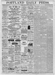Portland Daily Press: November 9, 1877
