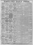 Portland Daily Press: November 10, 1877