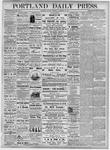 Portland Daily Press: November 12, 1877