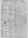 Portland Daily Press: November 16, 1877