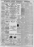 Portland Daily Press: November 21, 1877