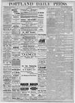 Portland Daily Press: November 22, 1877