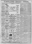 Portland Daily Press: November 23, 1877