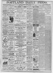 Portland Daily Press: November 28, 1877
