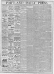 Portland Daily Press: December 4, 1877