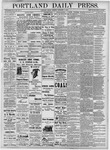 Portland Daily Press: December 7, 1877