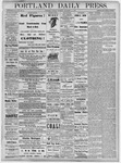 Portland Daily Press: December 11, 1877