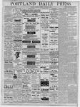 Portland Daily Press: December 27, 1877