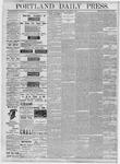 Portland Daily Press: December 31, 1877