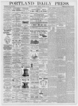 Portland Daily Press: January 13, 1877
