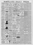 Portland Daily Press: January 16, 1877