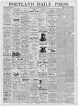 Portland Daily Press: January 25, 1877