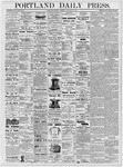 Portland Daily Press: January 29, 1877