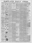 Portland Daily Press: February 8, 1877