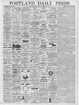 Portland Daily Press: February 10, 1877
