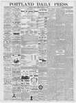 Portland Daily Press: February 20, 1877