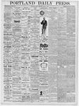 Portland Daily Press: March 2, 1877