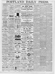 Portland Daily Press: March 22, 1877