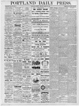Portland Daily Press: March 24, 1877