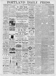 Portland Daily Press: March 30, 1877
