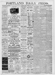 Portland Daily Press: May 1, 1877
