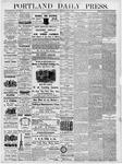 Portland Daily Press: May 4, 1877