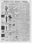 Portland Daily Press: May 12, 1877