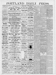 Portland Daily Press: June 1, 1877