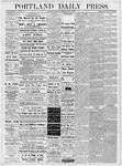 Portland Daily Press: June 7, 1877