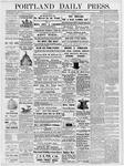 Portland Daily Press: June 15, 1877