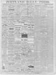 Portland Daily Press: January 3, 1878