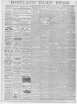 Portland Daily Press: January 4, 1878