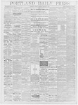 Portland Daily Press: January 7, 1878