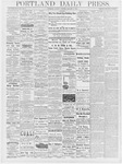 Portland Daily Press: January 8, 1878