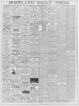 Portland Daily Press: January 9, 1878
