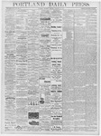 Portland Daily Press: January 12, 1878