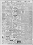 Portland Daily Press: January 16, 1878