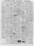 Portland Daily Press: January 17, 1878