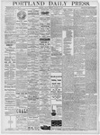 Portland Daily Press: January 18, 1878