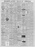 Portland Daily Press: January 21, 1878