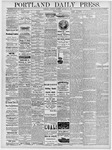 Portland Daily Press: January 26, 1878