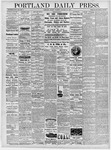 Portland Daily Press: January 28, 1878