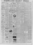 Portland Daily Press: January 29, 1878