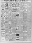Portland Daily Press: January 30, 1878