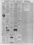 Portland Daily Press: February 8, 1878