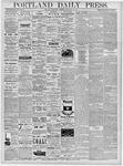 Portland Daily Press: February 20, 1878