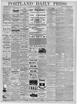 Portland Daily Press: March 4, 1878