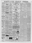 Portland Daily Press: March 5, 1878