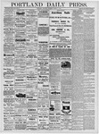 Portland Daily Press: March 7, 1878
