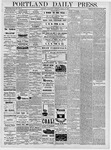 Portland Daily Press: March 13, 1878